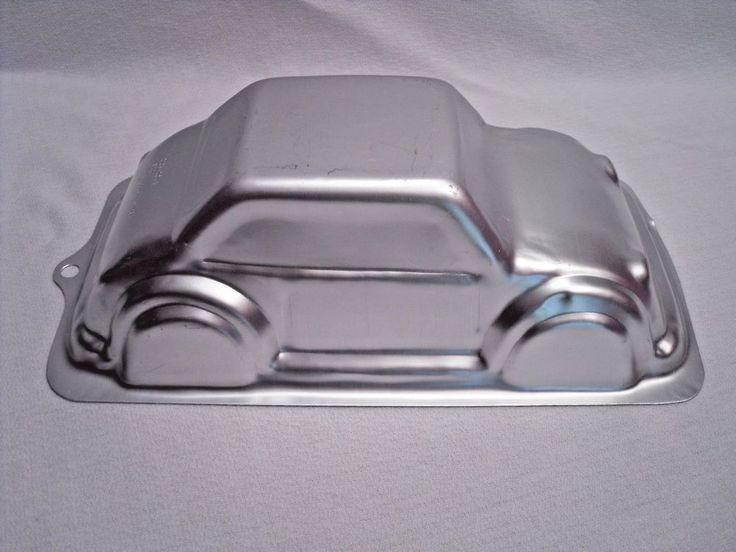 Wilton 3-D Cruiser Car Cake Pan 2105-2043 Two Door Coupe  #Wilton