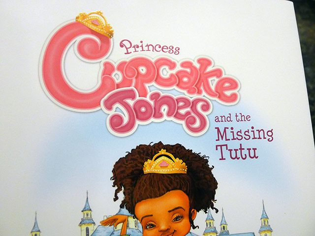 A Storybook With An African American Girl As The Lead