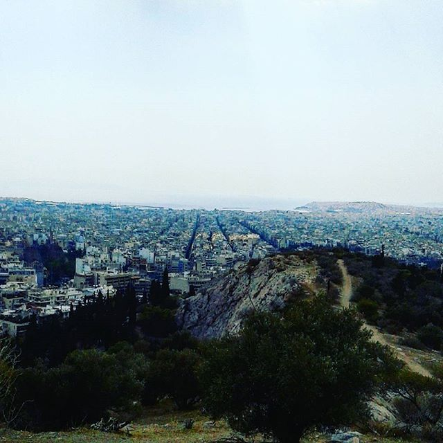 Filopappos Hill, take a journey in #mythical #Athens #urbanathenscollective…