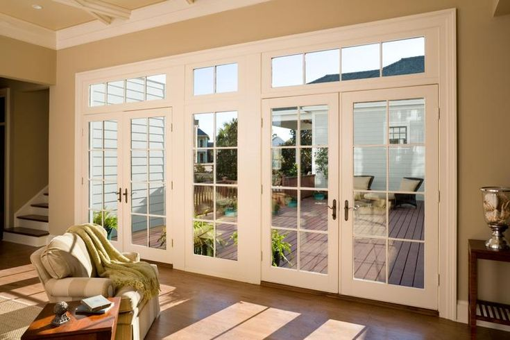 Swinging patio doors personal style using jeld wen patio - Exterior doors that open to the outside ...
