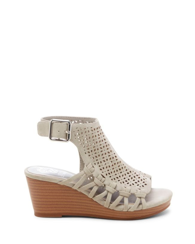 2d568a8016 Vince Camuto Girls Obal Laser-cut Wedge Sandal | Future baby | Wedge ...