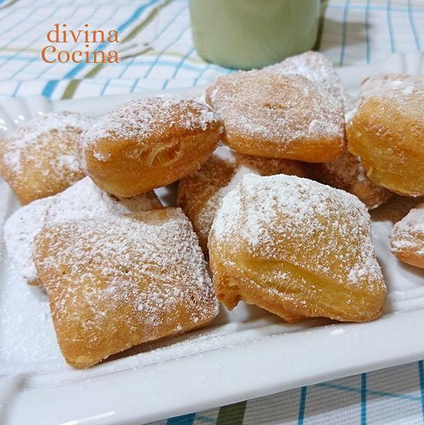 Los beignets son una variedad de buñuelos originarios de Francia que se preparan con una masa sencilla y se fríen. No llevan horneado y resultan deliciosos.