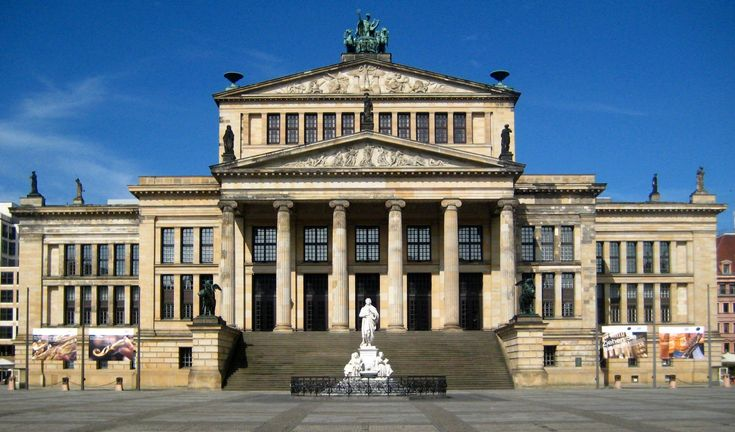 19th century neo classicism germany karl friedrich for Architecture berlin