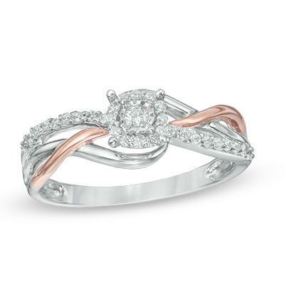 Zales Heart-Shaped Aquamarine and 1/20 CT. T.w. Diamond Leaf-Shank Promise Ring in Sterling Silver nBBQjwFrjY