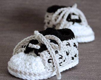 Patron de crochet zapatillas bebe I love Cheetah