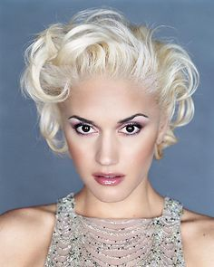 gwen stefani hair short - Google Search
