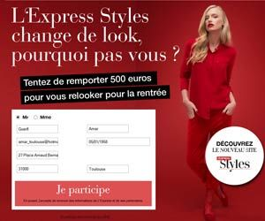 Concours gratuit L'Express Styles : tentez de gagner 500 euros de cash grâce à un quiz (avec réponse fournie)