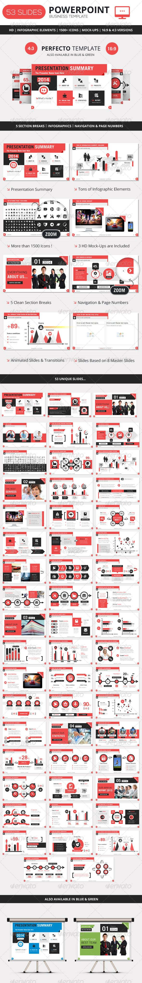 PowerPoint Business Presentation Template - Business Powerpoint Templates