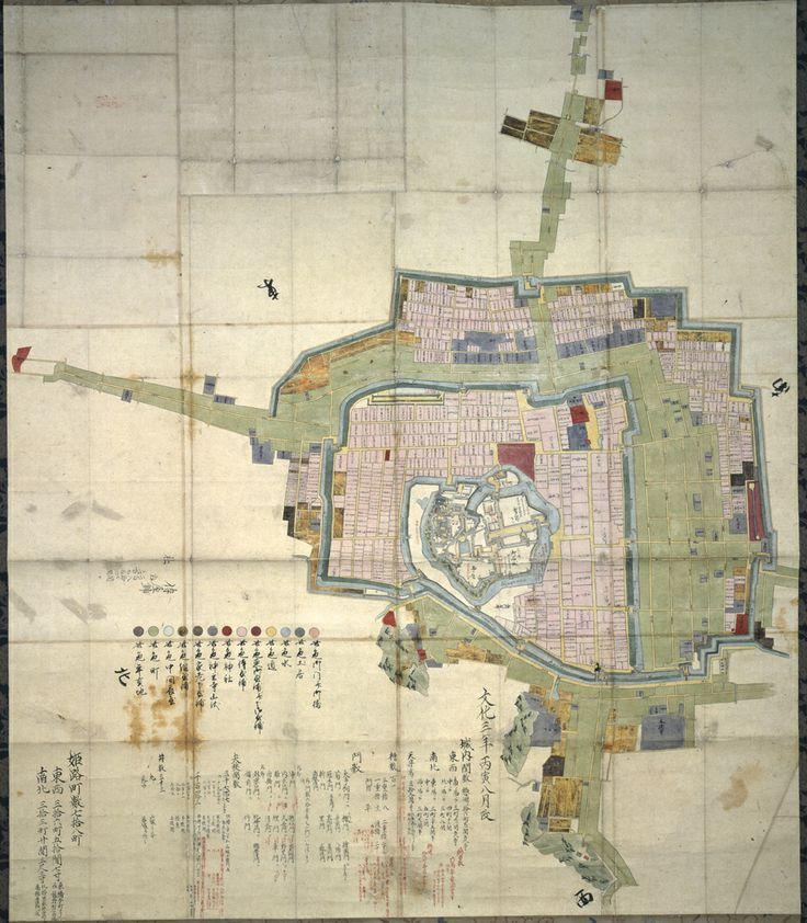 姫路城下絵図
