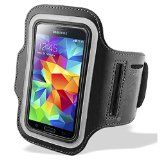 Sports Running Jogging Gym Fitness Armband Case Cover For Samsung Galaxy S5 (i9600) S4 (i9500) S3 (i9300) Samsung Galaxy Alpha (Black) - http://trolleytrends.com/health-fitness/sports-running-jogging-gym-fitness-armband-case-cover-for-samsung-galaxy-s5-i9600-s4-i9500-s3-i9300-samsung-galaxy-alpha-black