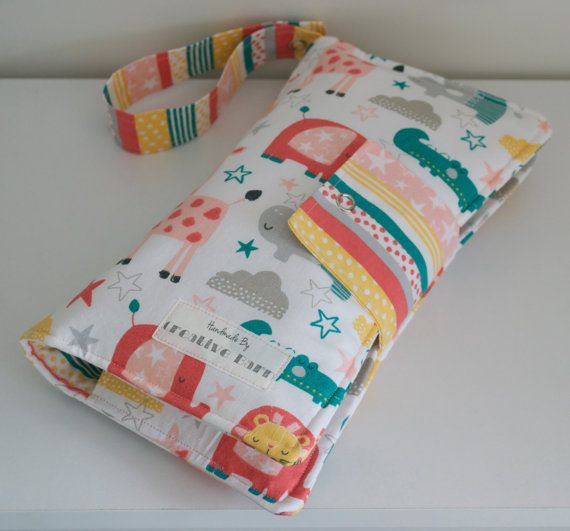 Animal Nappy Wallet by BecsCreativeBarn on Etsy