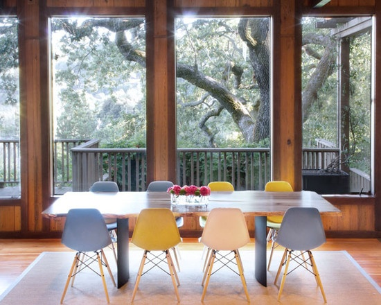 Molded Plastic Dining Chairs 27 best eames dining chairs images on pinterest | eames dining