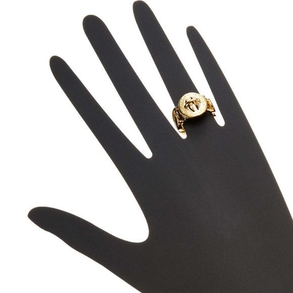 Marc by Marc Jacobs Jewelry - Marc By Marc Jacobs Katie Turnlock Ring Gold