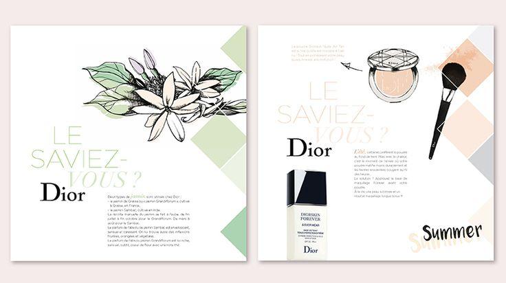 Dior - Calendar 2016 on Behance