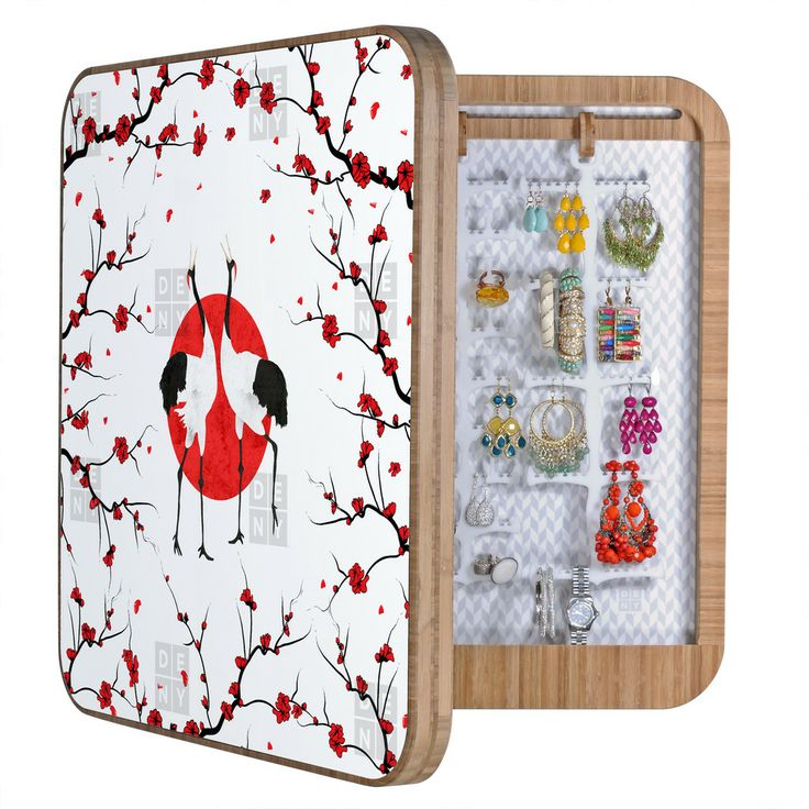 Belle13 Love Dance Of Japanese Cranes BlingBox   DENY Designs Home Accessories