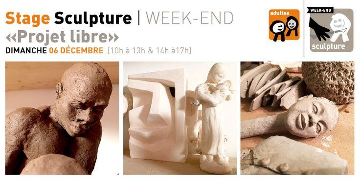 Rrose selavy » Stage Sculpture «Projet libre»   dimanche 06 décembre