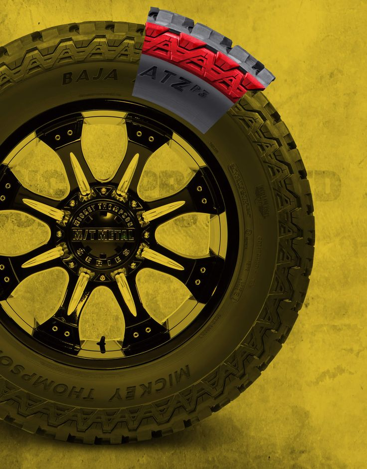 Mickey Thompson Baja ATZ P3™ in 2020 Lifted chevy