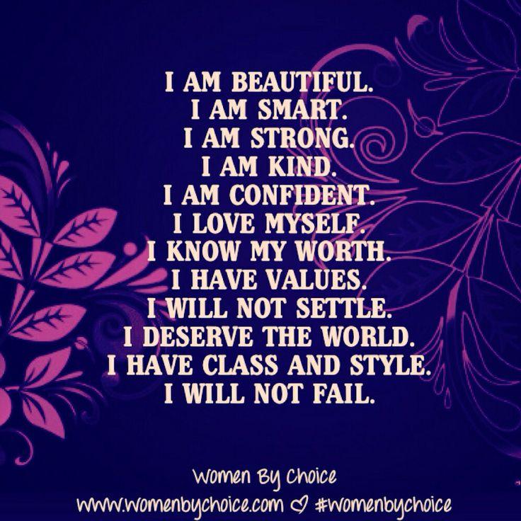 Self Affirmations
