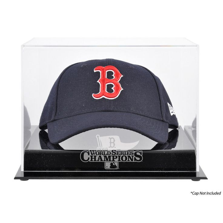 Boston Red Sox Fanatics Authentic 2013 MLB World Series Champions Cap Display Case
