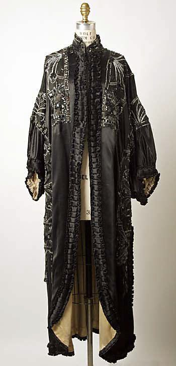 Wrap, Evening  House of Paquin (French, 1891–1956)  Designer: Mme. Jeanne Paquin (French, 1869–1936) Date: 1908