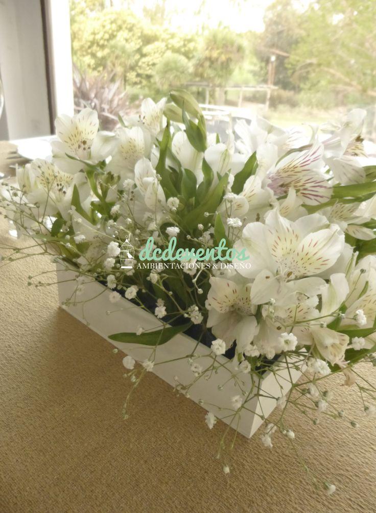 130 best centros de mesa images on pinterest floral - Mesa de hierro ...
