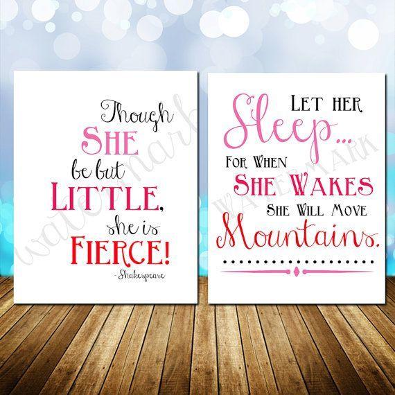 Toddler Girl Bedroom Set | Girls Bedroom Baby Nursery Print Set Though by InfiniteLoveDesign, $8 ...