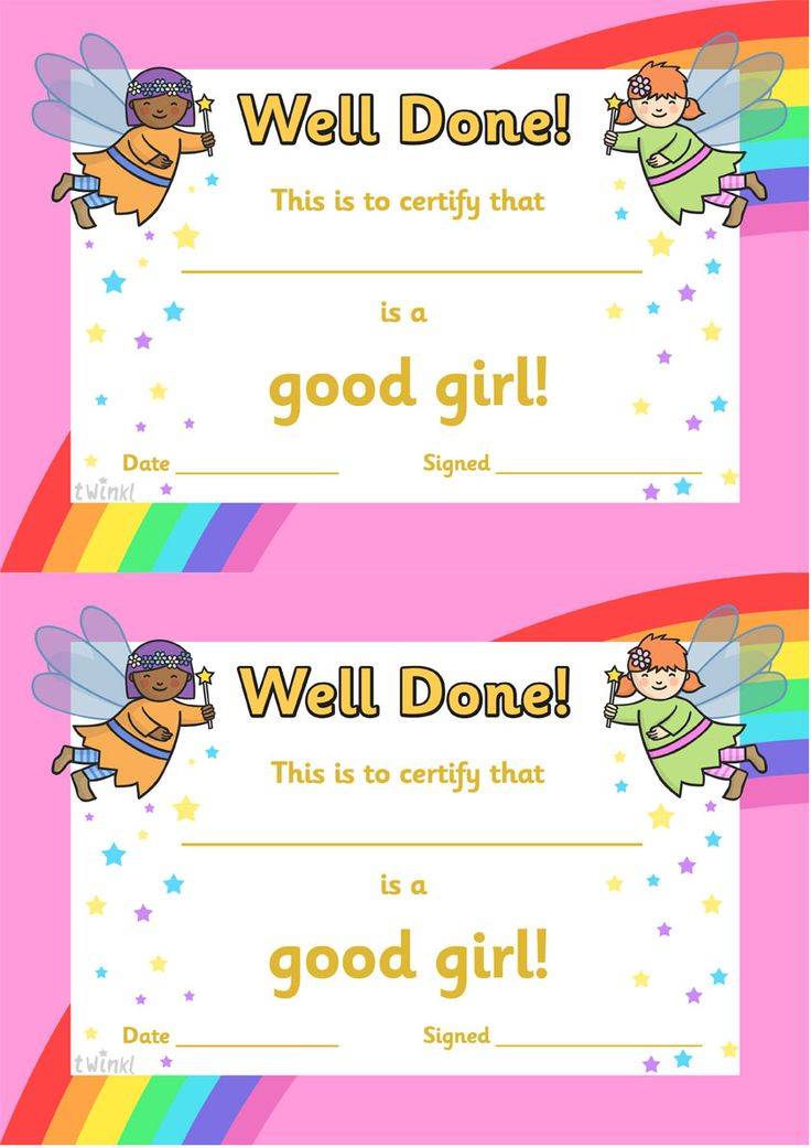 twinkl resources  u0026gt  u0026gt  good girl award certificates