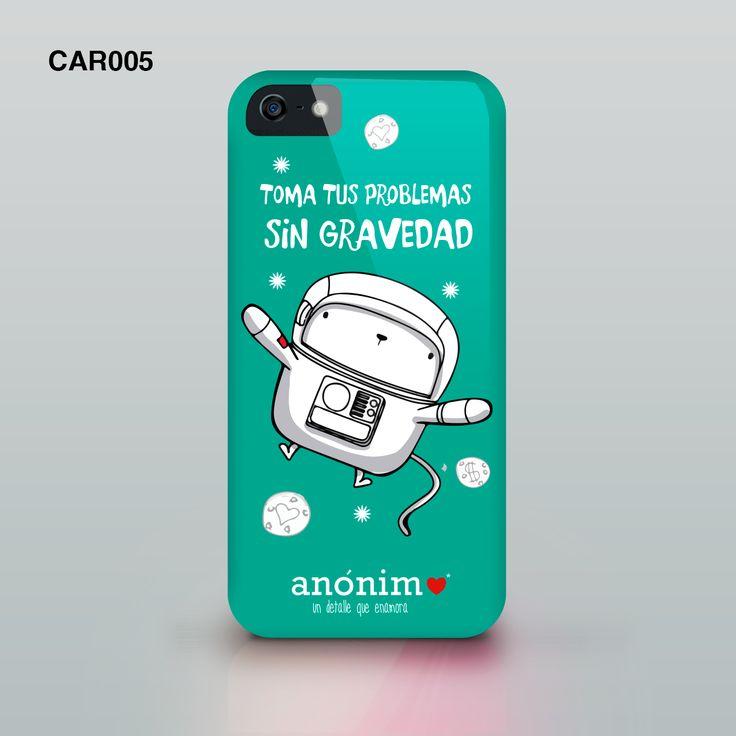 Carcasas de celular para todo tipo de gustos, visita nuestra tienda web www.anonimoenamora.com