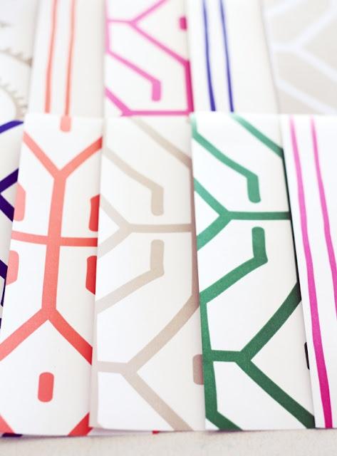 Anna Spiro Wallpaper Designs in a range of happy colors
