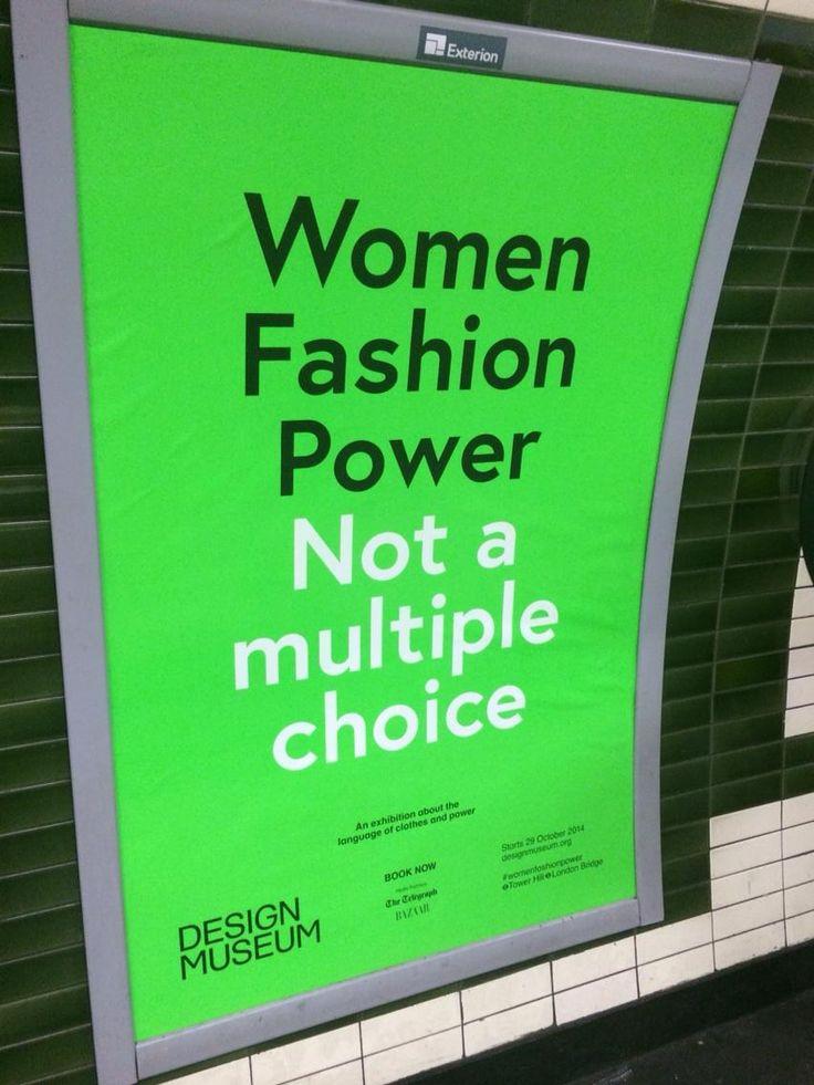 women fashion power not a multiple choice - Google Search
