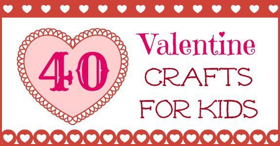Valentine's Crafts for Kids via @J O-Lynne Shane