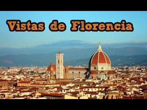 Vistas de #Florencia desde el Piazzale Michelangelo vía videoblog de #Viajology