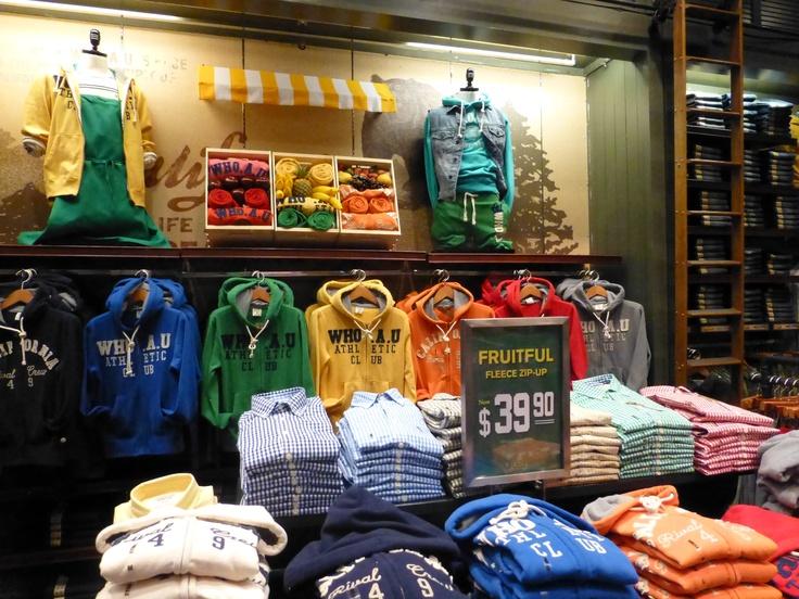 """fresh and fruitful"" clothing @WHO.A.U."