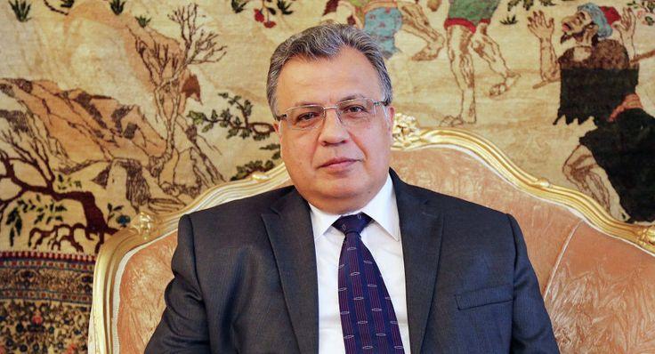 Δολοφονήθηκε ο πρεσβευτής της Ρωσίας στην Άγκυρα