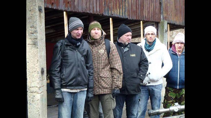 střelnice Vinořice u Kladna březen 2013