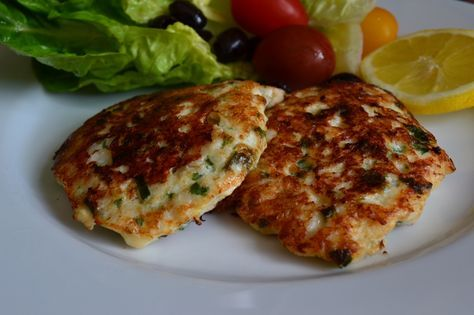 Lemon sole fishcakes. Share your recipes with us at: https://swbhengage.com/health-advice/eat-well/recipe-sharing/luxurious-lemon-sole-fish-cakes-with-cucumber-and-little-gem-salad/