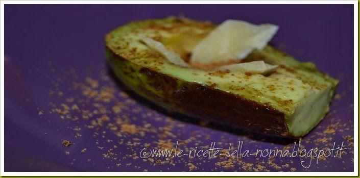 Le Ricette della Nonna: Avocado con miele, pecorino e zucchero di canna