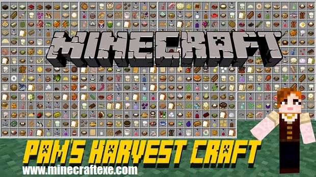 Hello everyone welcome to Pam's HarvestCraft Mod for Minecraft 1.11.2/1.10.2/1.7.10, Today I will be showcasing Pam's HarvestCraft it's a mod at the Minecraft offers a lots of new seeds plant some foods have you ever wanted to make us run over here and grab something that they add in here Pam's Have you ever want to make Pam's yogurt or sushi it looks good? [  346 more words ]  http://www.minecraftexe.com/pams-harvestcraft-mod/ #minecraft #pcgames