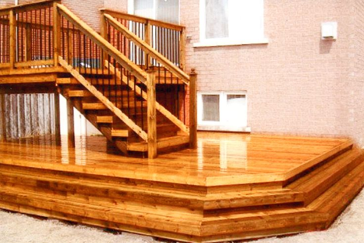 17 Best Images About Deck Ideas On Pinterest Two Level