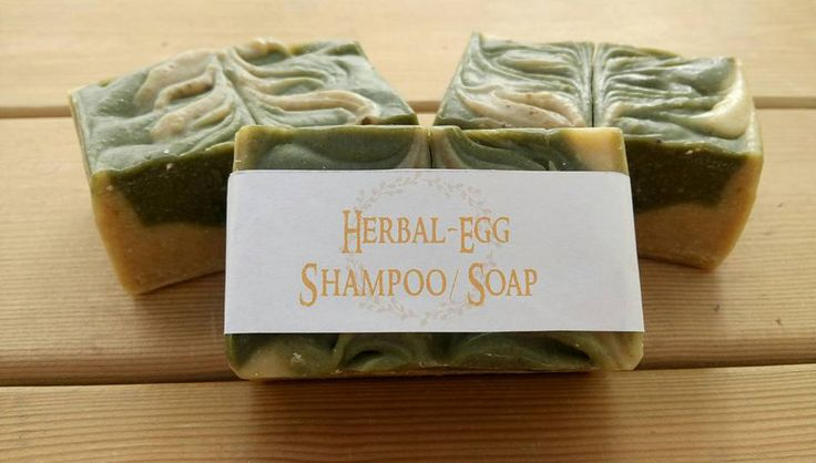 Herbal Egg Shampoo bar