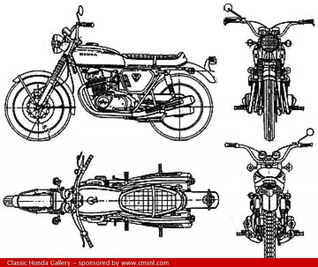 62 best images about honda cb series