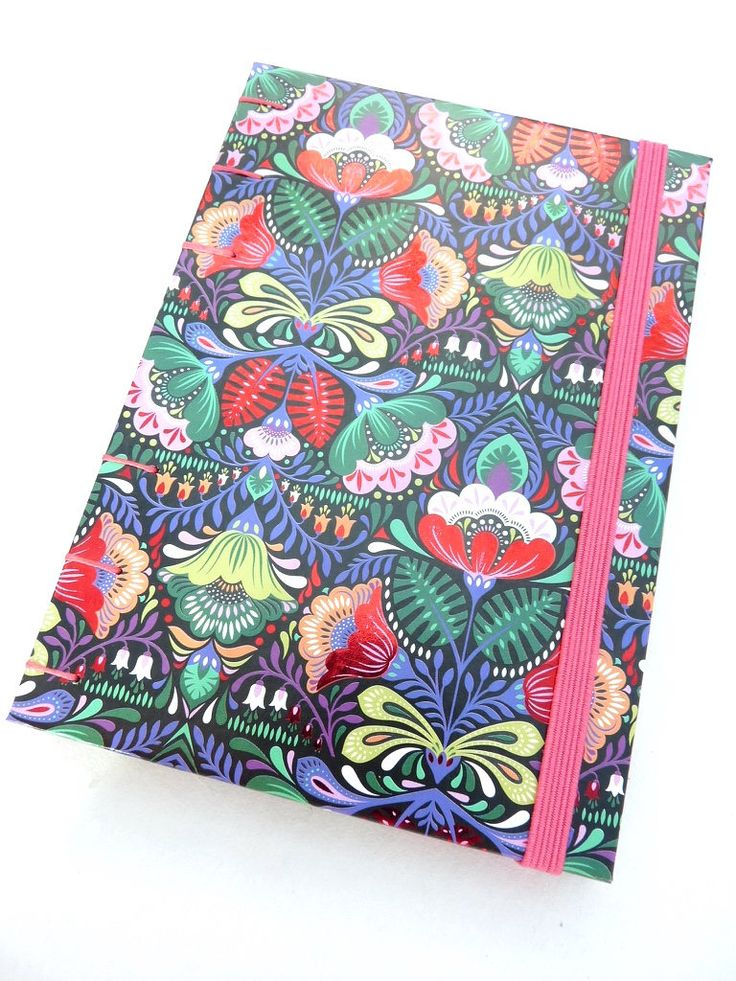 A6, weekly, planner 2017, 2018, exotic, flower, oriental, diary, journal, notebook, Coptic, Paperchase, elastic by ImmaginacijaBindery on Etsy https://www.etsy.com/uk/listing/561126203/a6-weekly-planner-2017-2018-exotic