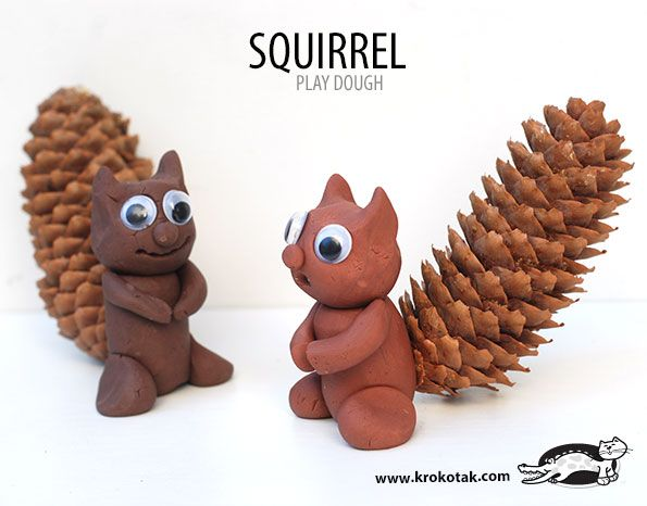 SQUIRREL  kids crafts