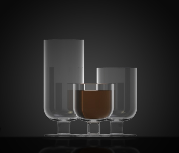 Forest glass by David Nevařil on the Behance Network