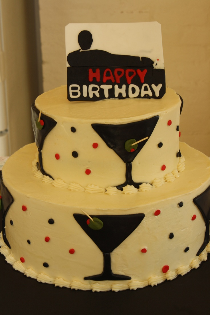 Madmen Cake