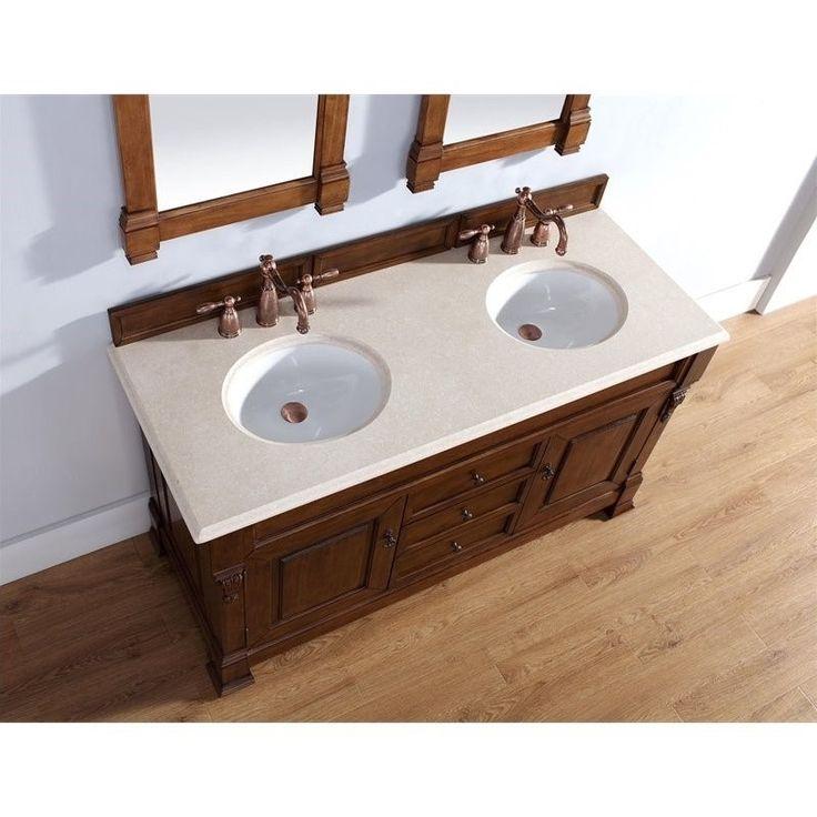 bathroom cabinet online design tool%0A James Martin Brookfield      Double Bathroom Vanity in Oak