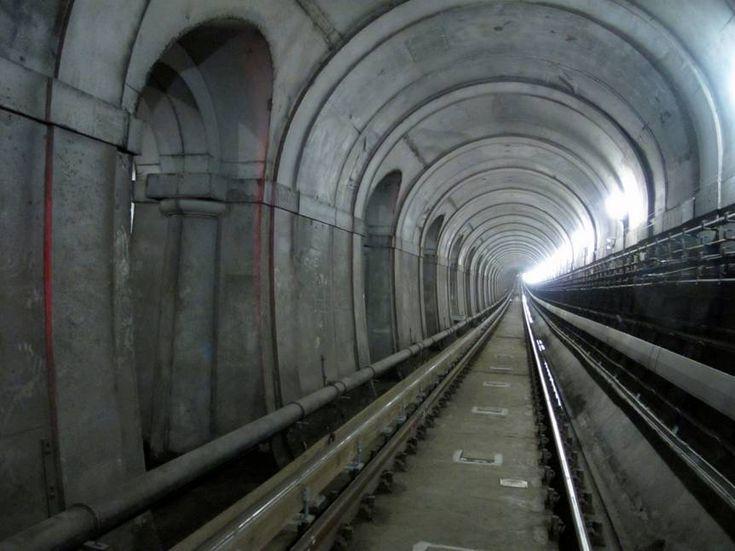 First underwater tunnel