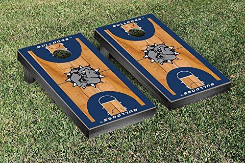 Southwestern Oklahoma State Bulldogs Cornhole Game Set Basketball Court Version * More info could be found at the image url.