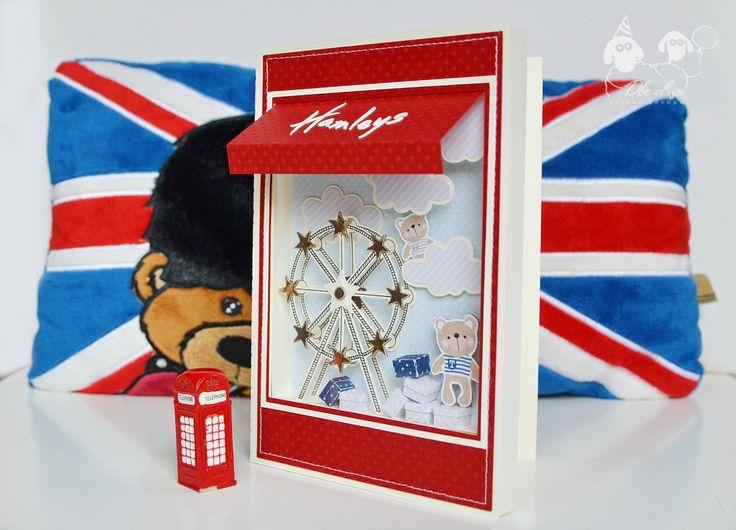 Hamleys card / Открытка-витрина Hamleys / Открытка с медведями