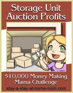 http://www.stay-a-stay-at-home-mom.com/storage-unit-auction.html Profit from Storage Unit Auctions